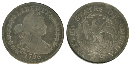 1796 Draped Bust Quarter