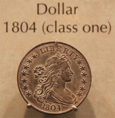 Class One 1804 Silver Dollar