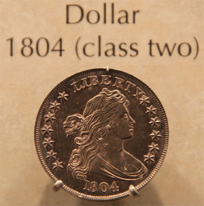 Class Two 1804 Silver Dollar