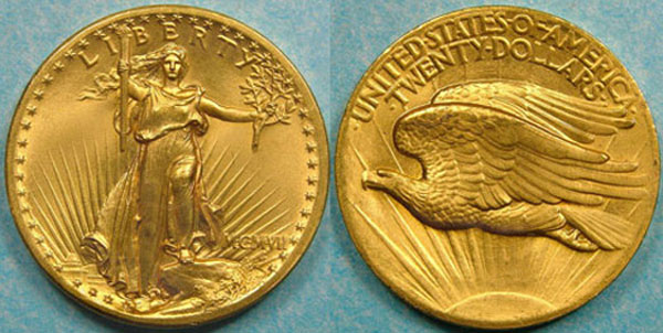 1907 High Relief Double Eagle