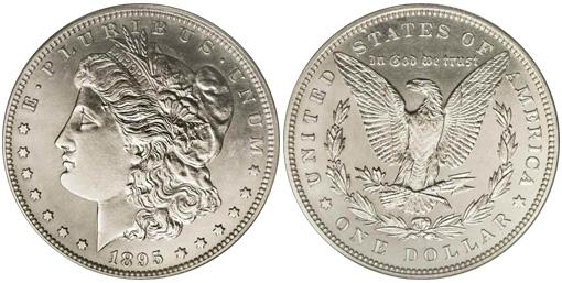 1895 Proof Morgan Dollar