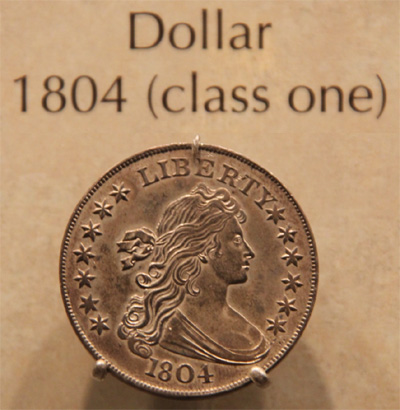 Class One 1804 Silver Dollar